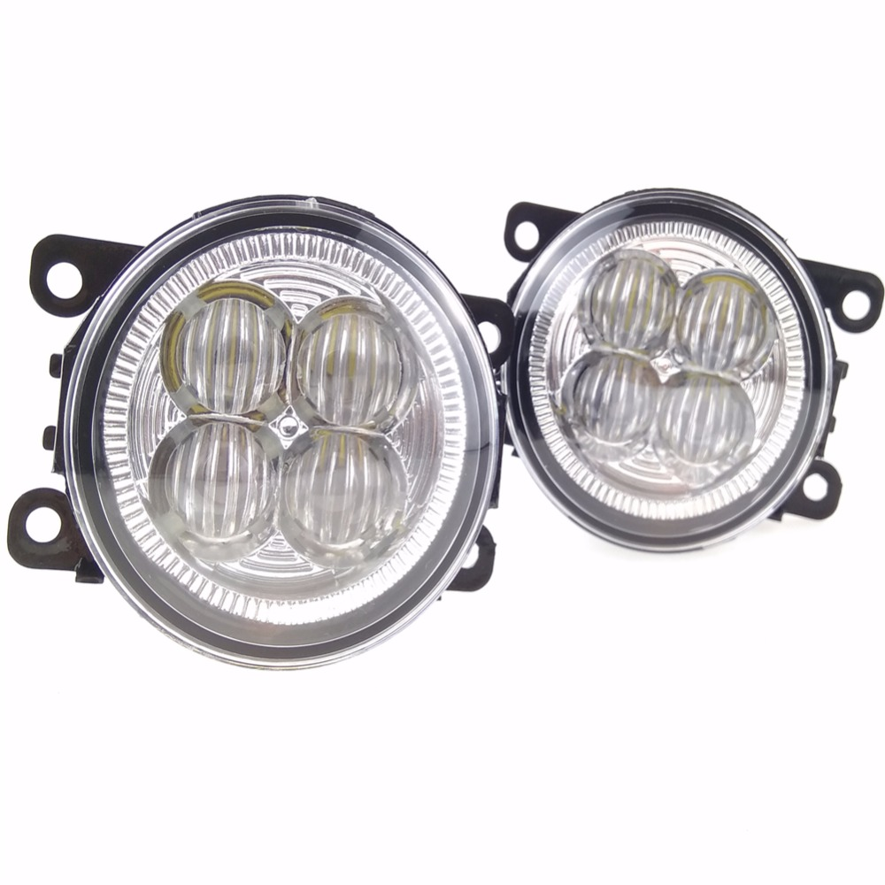 For Mitsubishi OUTLANDER II CW_W Closed Off-Road Vehicle  2006-2009 10W High power high brightness LED set lights lens fog lamps  for suzuki jimny fj closed off road vehicle 1998 2013 10w high power high brightness led set lights lens fog lamps