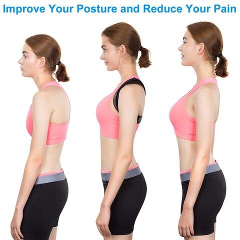 Adjustable Medical Men/women Back Posture Corrector Clavicle Spine Back Shoulder Lumbar Brace Support Belt Posture Correction 32 Islamabad