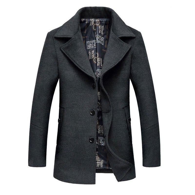 Manteau laine homme printemps
