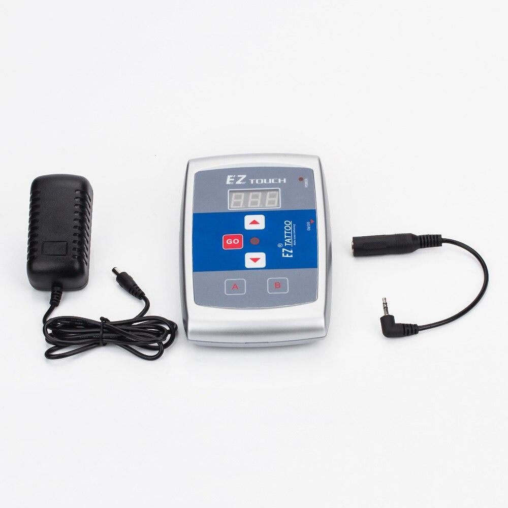 EZ tatouage professionnel maquillage Permanent alimentation LCD affichage numérique tatouage maquillage tatouage Machine Kit 1 ensemble/lot