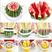 Fruit Vegetable Tool Cutter Watermelon Slicer Melon Cantaloupe Watermelon Cutter Slicer Kitchen Tool Cooking Tool Fruit