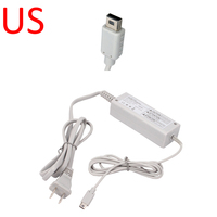HOT EU US UK Type Plug Wall AC Adapter Power Charger For Nintendo Wii U Gamepad
