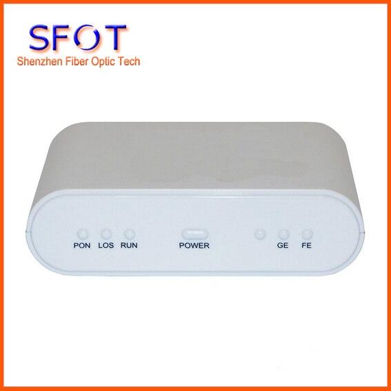 Сетевые роутеры телекоммуникационное оборудование 1GE + 1FE EPON с оптическим сетевым блоком и оптическим сетевым окончанием, соответствуют zte,