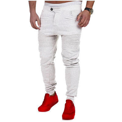 Vogue Men Jogger Dance Sportwear Baggy Harem Pants Slacks Trousers Sweatpants AU