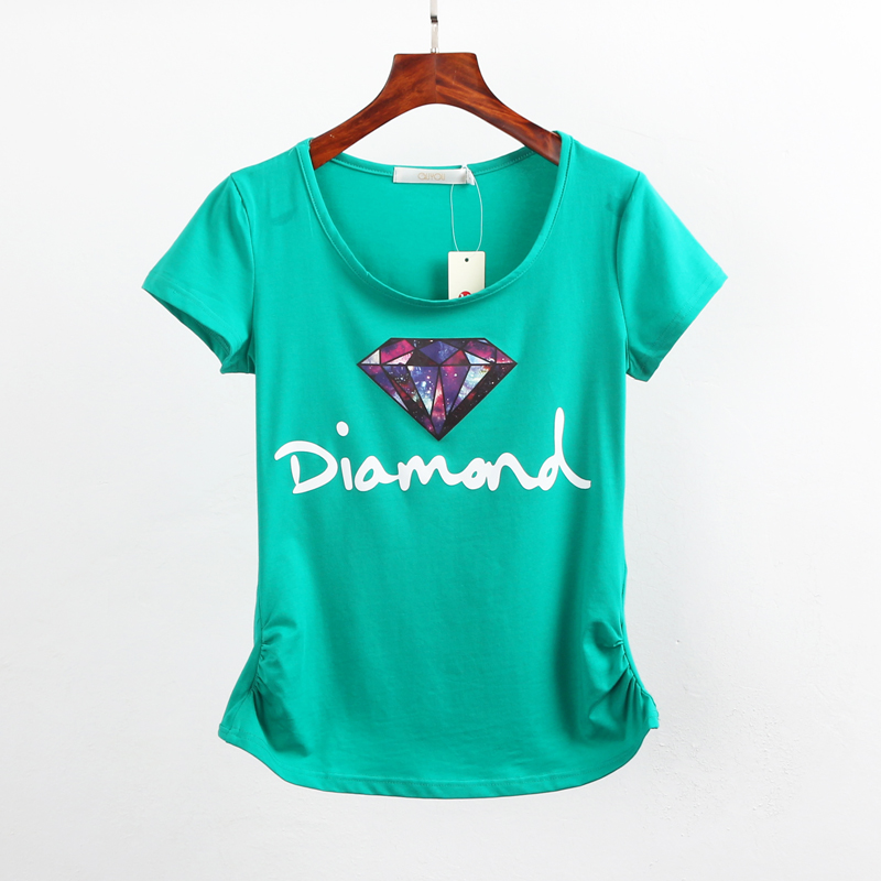 New women casual summer style t shirt women short sleeve for Best t shirts for summer