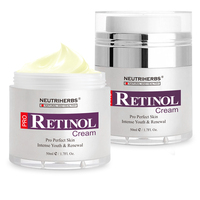 Retinol Moisturizer Cream for Face and Eye Area with Hyaluronic Acid, Vitamin E - Best Day and Night Anti Aging Formula 50g/pc 3