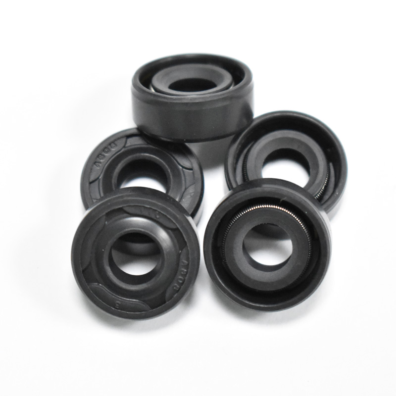 5pieces  Black Oil Seal Ring 7mm*8mm*18mm Radial Shaft Seal Ring replacements Gasket Blender accessories5pieces  Black Oil Seal Ring 7mm*8mm*18mm Radial Shaft Seal Ring replacements Gasket Blender accessories