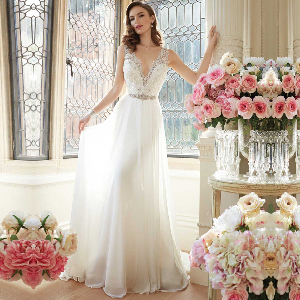 Unique wedding gown reviews online shopping unique for Custom wedding dress online
