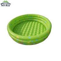 Circulaire green opblaasbare zwembad kinderen zwembad 42 cm hoogte