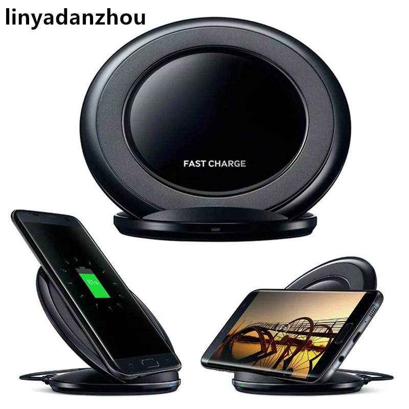 10 יחידות תשלום מהיר צ 'י מטען אלחוטי טלפון סלולרי מהיר מזח טעינת Pad עבור Samsung Galaxy הערה קצה S6 S7 4
