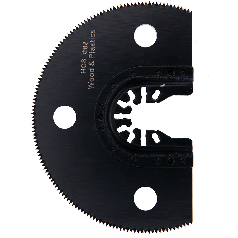 100mm Semi Circular HCS Segment Saw Blade Oscillating Multi-function Tools  Power Tool Accessories For Wood Cutting