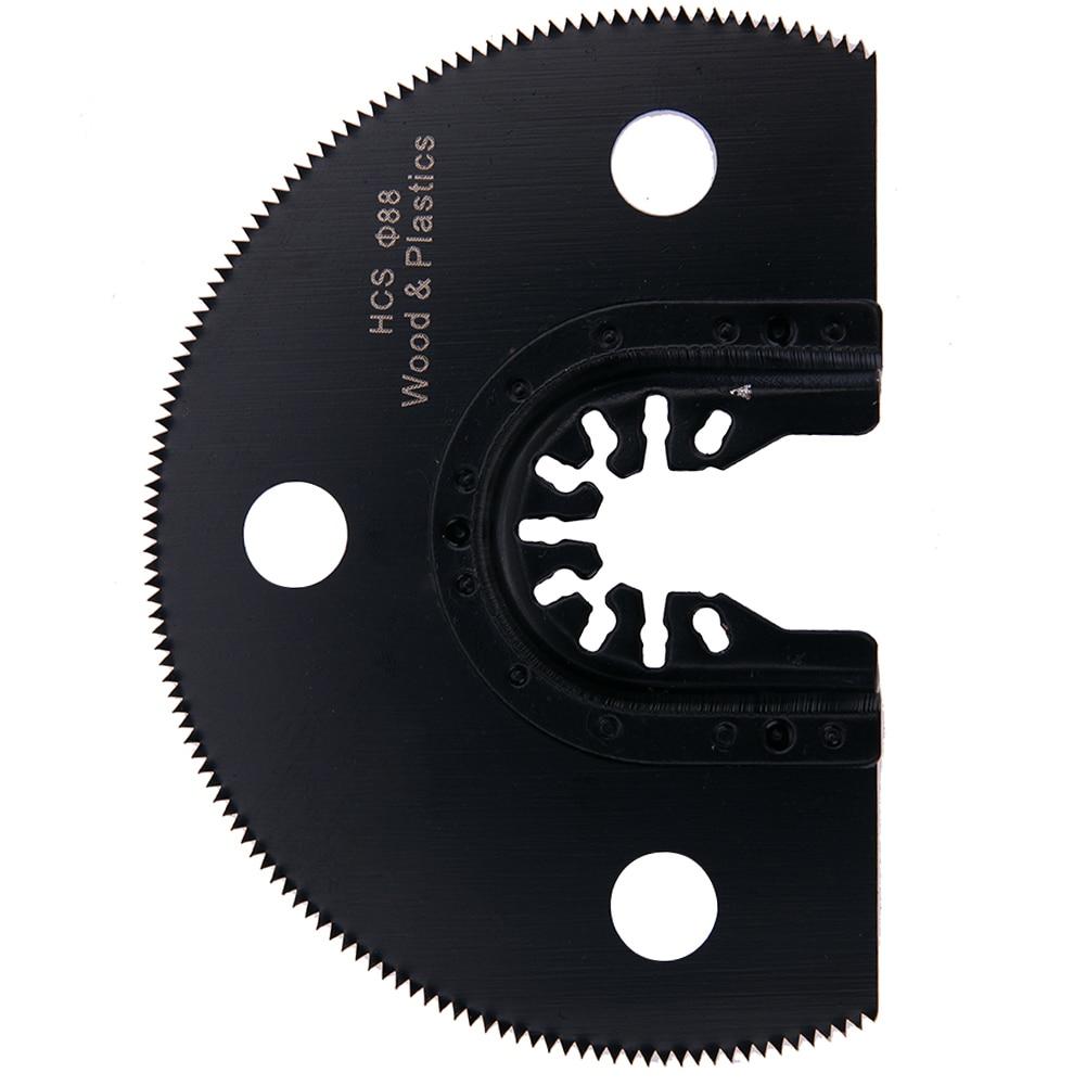 100mm Semi Circular HCS Segment Saw Blade Oscillating Multi-function Tools  Power Tool Accessories For Wood Cutting