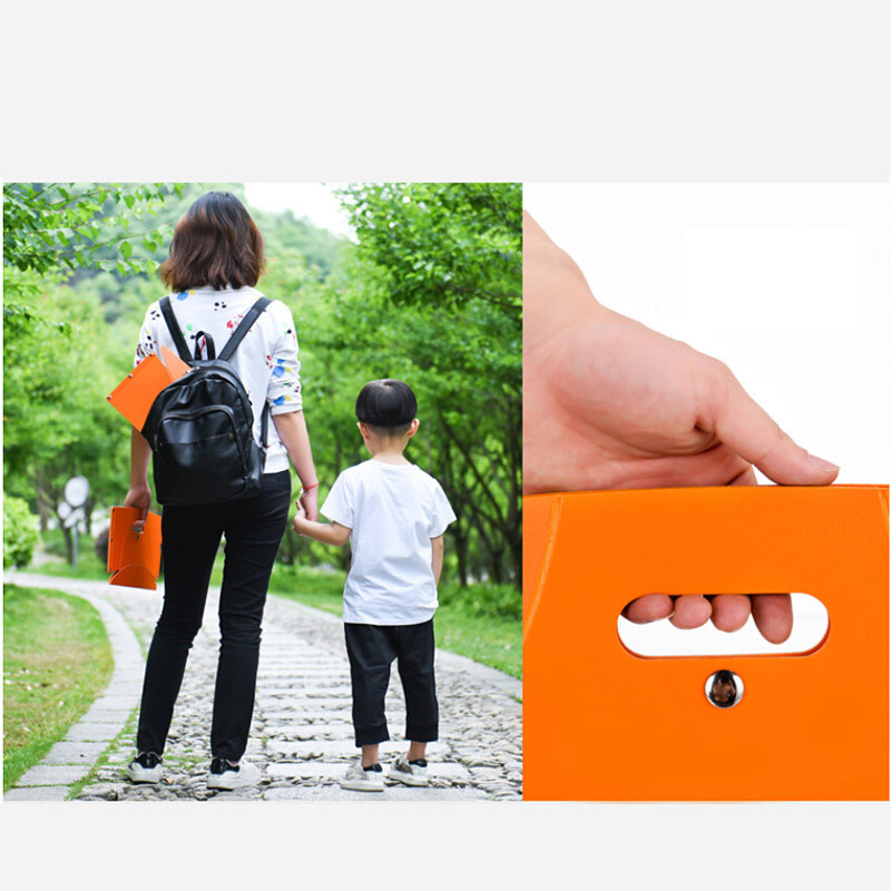 Portable Folding Stool PP Chair Seat Ultralight Fishing Outdoor Camping Hiking For Kids Adults