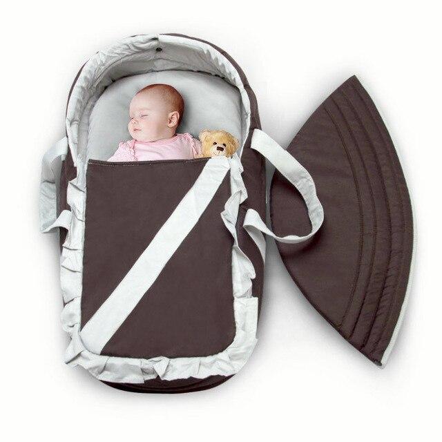 Портативный детская спальная корзина кровать детская кроватка в портативный корзина для младенцев 0-6 месяцев комфортно