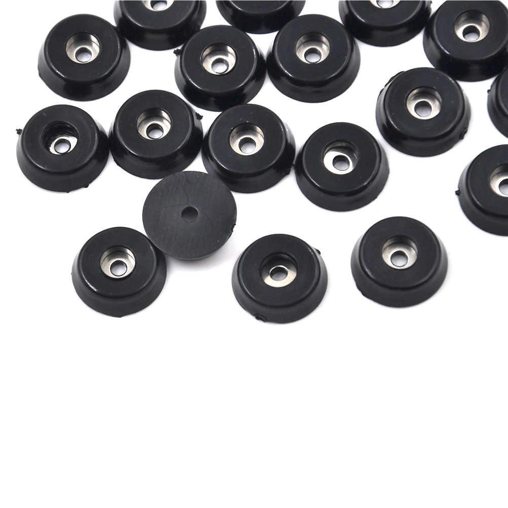 20 шт резиновая фурнитура для столов и стульев ног колодки плитка защита для пола 18x15x5 мм