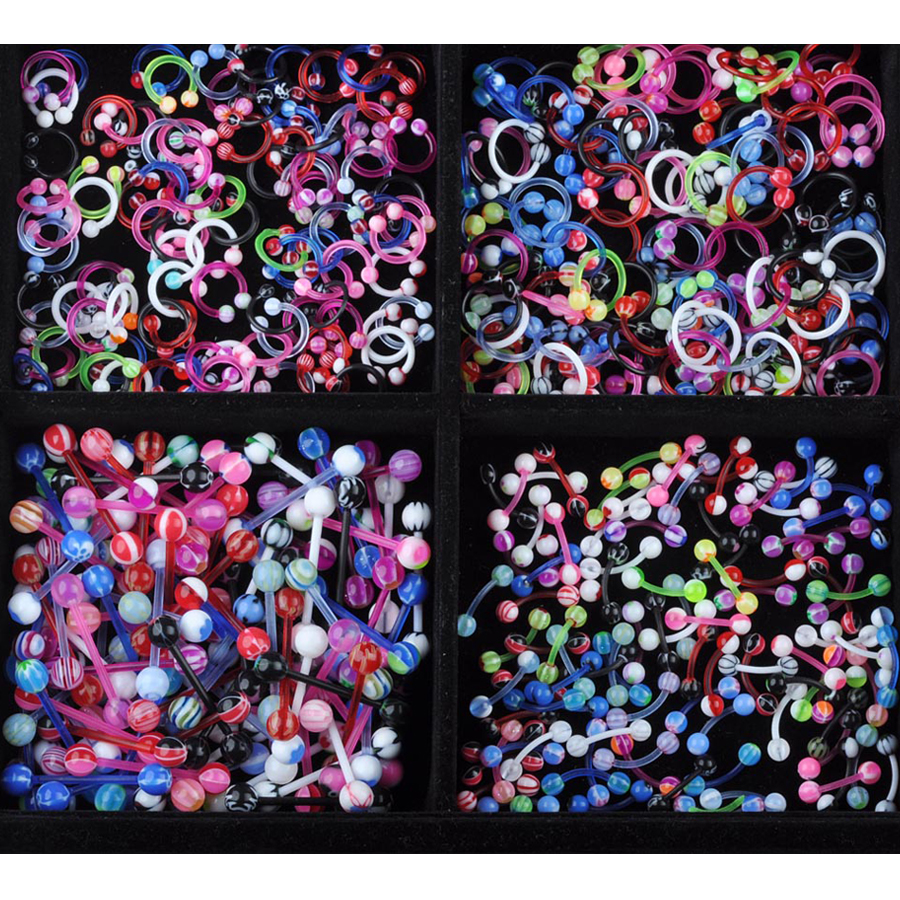 12pcs Silicone Ear Expander Pierce multicolor wholesale Lots Body Jewelry New