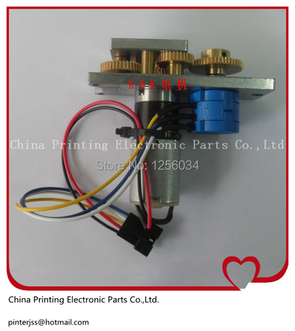 FIN-4062-00H spare parts ink key motor for Komori machine