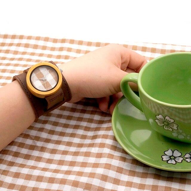 Zegarek drewniany Bobobird Wide Strap
