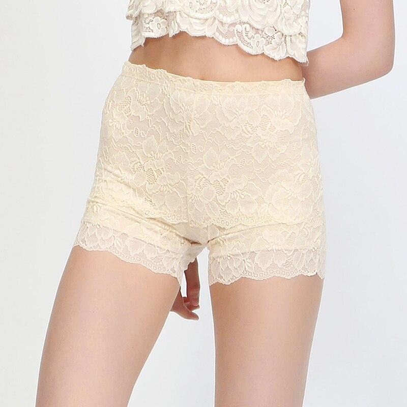 7edcb13e5ea3 Las mujeres de seguridad pantalones cortos de seda Natural 100 ...