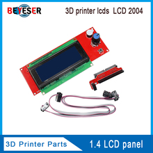 3D printer lcds display screen original LCD 2004 Ramps 1.4 LCD panel LCD2004 good compatibility/durability/stability 33d printer kit smart parts ramps 1 4 controller control panel lcd 2004 module display monitor motherboard blue screen