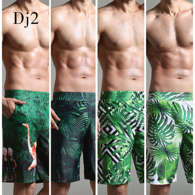 4cdddf12b5 2017 Swimwear Men Brand High-end Digital Print Beach Wear Men Long ...