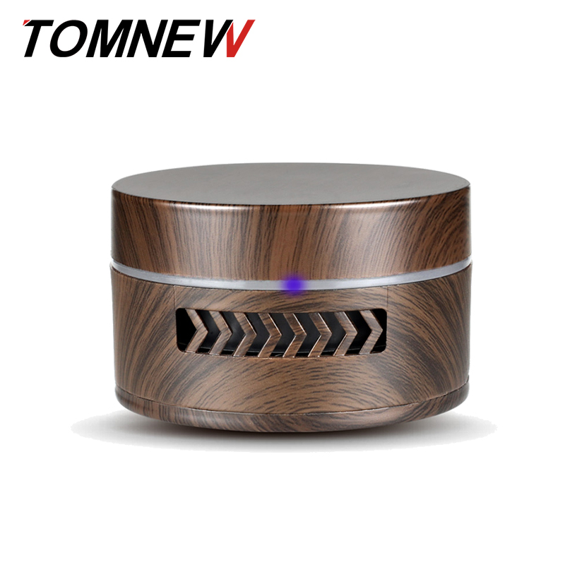 TOMNEW Mini Aroma Diffuser Wood Grain Outlet Fragrance Car Perfume Essential Oil Diffuser Air Freshener Battery for Home Car household appliances air purifier aroma diffuser for home car air freshener air conditioning outlet perfume fragrant fresheners