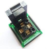 TQFP64 LQFP64 QFP64 Socket Adapter IC Chip Test Seat STM32 And FPQ 64 0 5 06