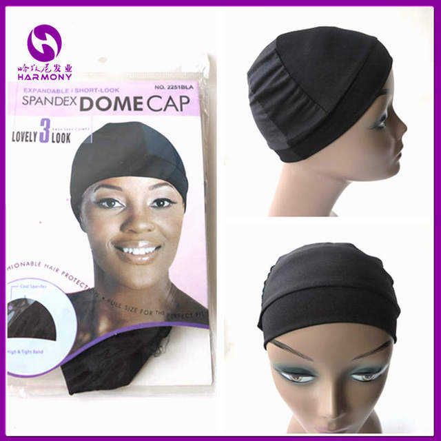 Spandex Dome Cap For Wig Cap Snood Nylon Strech Hairnets Wig Caps For  Making Wigs Glueless Hair Net Wig Liner c0dc8a57d