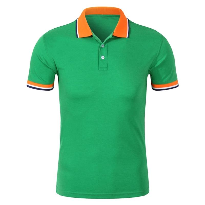 New Fashion Men   Polo   Shirt Business & Casual Plus Size 3XL 10Colors Male   Polo   Shirt Short Sleeve Breathable Shirt Men H8