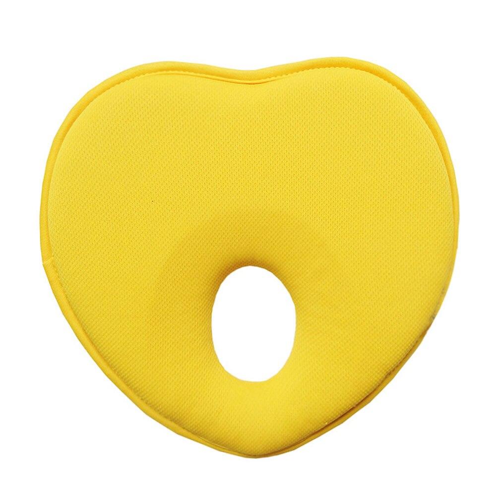 Детские форменная Подушка для новорожденного Детские подушки хлопок для малышей грудка любовь узор детские постельные принадлежности Материнство мамы подушки - Цвет: yellow