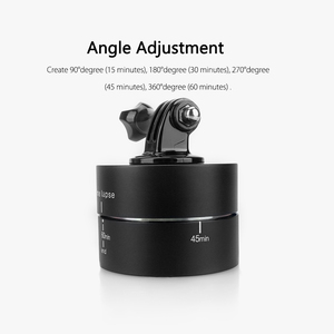 Image 3 - Vamson for GoPro Accessories 60min Panning Rotating Time Lapse Stabilizer 360 Degrees For Gopro Hero 5 4 3+ for Xiaomi VP408