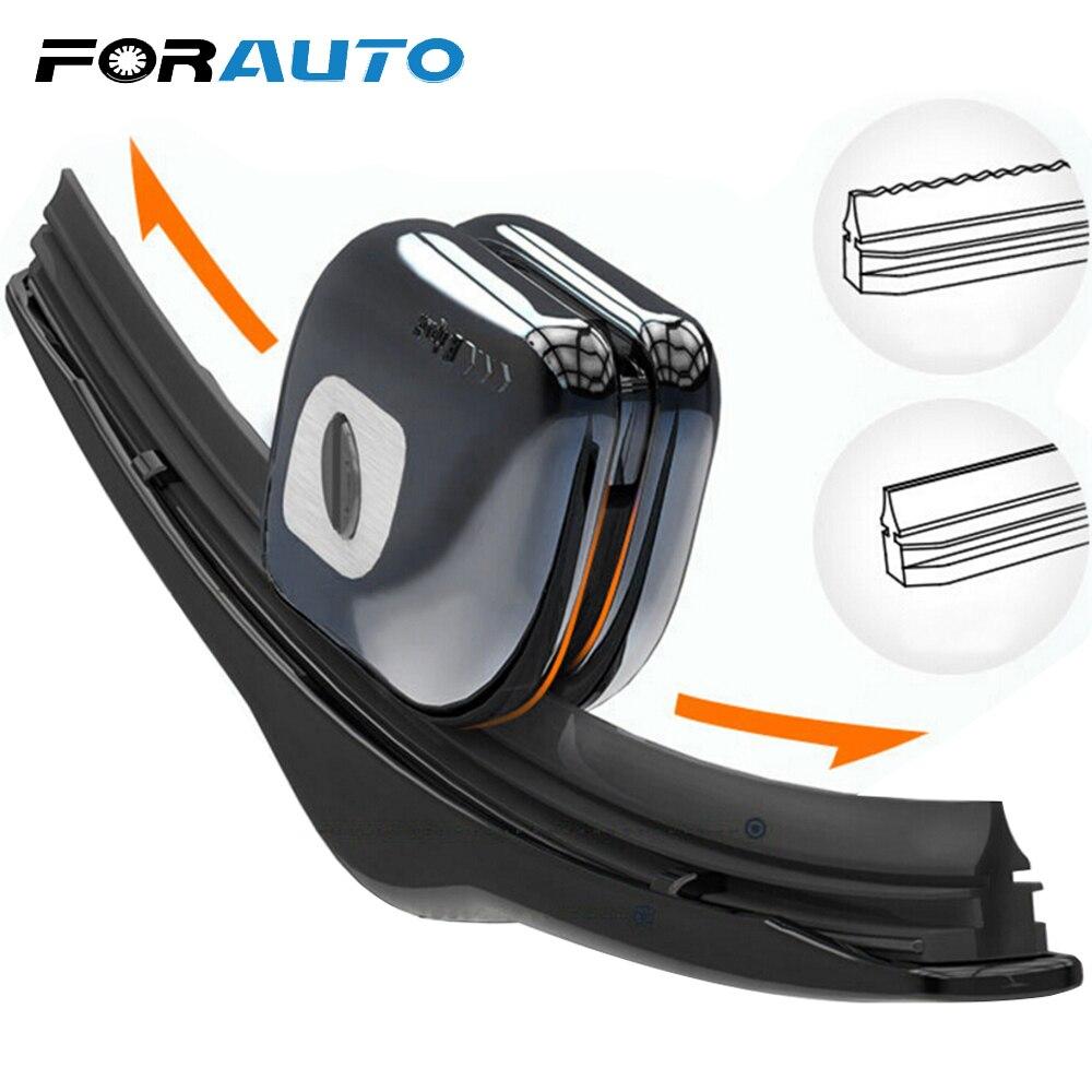 Essuie-glace désossé de réparation de bande de caoutchouc de pare-brise de FORAUTO avec l'outil de réparation d'essuie-glace de voiture de restaurateur de lame de pare-brise de style de voiture de porte-clés