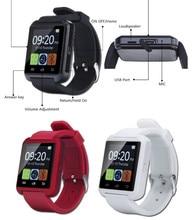 Bluetooth Smart Uhr U8 Smartwatch U Uhr Für iOS iPhone Samsung Sony Huawei Xiaomi Android Handys Gute als GT08 DZ09