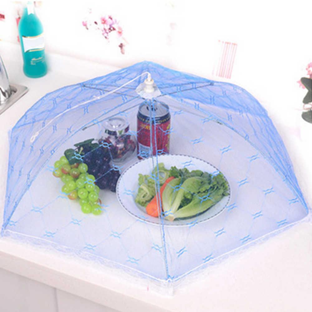Plegable Anti mosca Mosquito comida Pop Up de malla de cubierta de la pantalla de la Mesa de la cocina neto tienda red paraguas Cocina protector