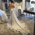 2017 Off the Shoulder Wedding Dress Mermaid Bridal Dress Sweetheart Sleeveless Beaded Appliques Bow Panel Wedding Dress