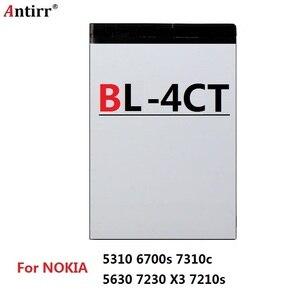 Сменный аккумулятор для телефона, для NOKIA 5310, BL4CT, 6700s, 7310c, 5630, 7230, X3, 7210s
