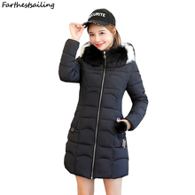2018 New Winter Women Coat female Jacket Warm High Quality Woman Down Parka Winter Padded Jacket  Big Yards Jacket long Sleeve цены онлайн