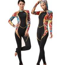Hisea womenS lycra jumpsuit wetsuit dive skin body wetskin surf swimwear UPF50 clothes full swimsuit for women windsurf