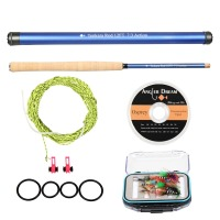 Angler Dream 12 13FT Japan Traditional Tenkara Fishing Rod Combo 7 3 Fast Action Carbon Fiber