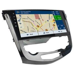 "Image 4 - 10.1"" IPS Octa Core 4G Android 9.0 4GB RAM 64GB ROM RDS BT Car DVD Player Radio GPS Glonass For Nissan Qashqai X Trail 2013 2018"