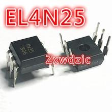 100PCS EL4N25 DIP6 4N25 DIP new and original 100pcs lm723cn lm723 dip 14