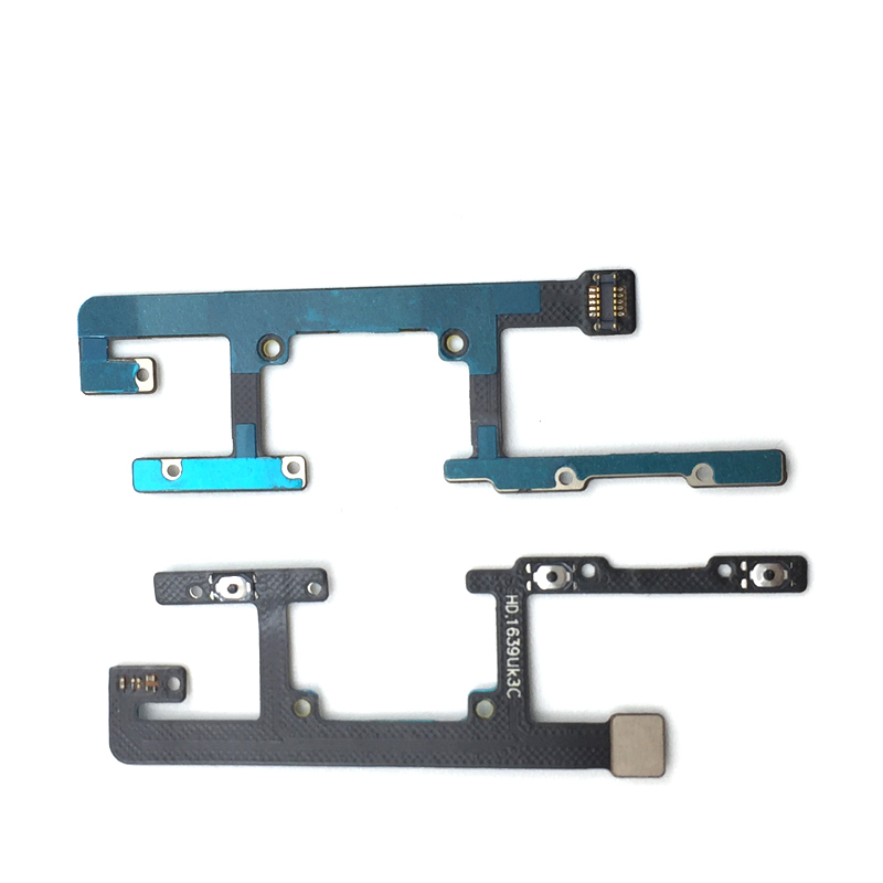 New Power On Off Volume Side Button Key Flex Cable For ZTE Blade A512 BA512 A 512 Replacement Parts