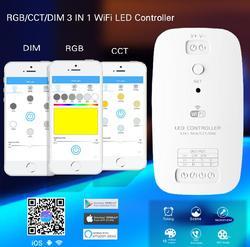 Darmowa wysyłka 3 funkcje kontroler  który obejmuje kontroler RGB  CCT zmienne kontroler i nadaje się do ściemniania kontroler