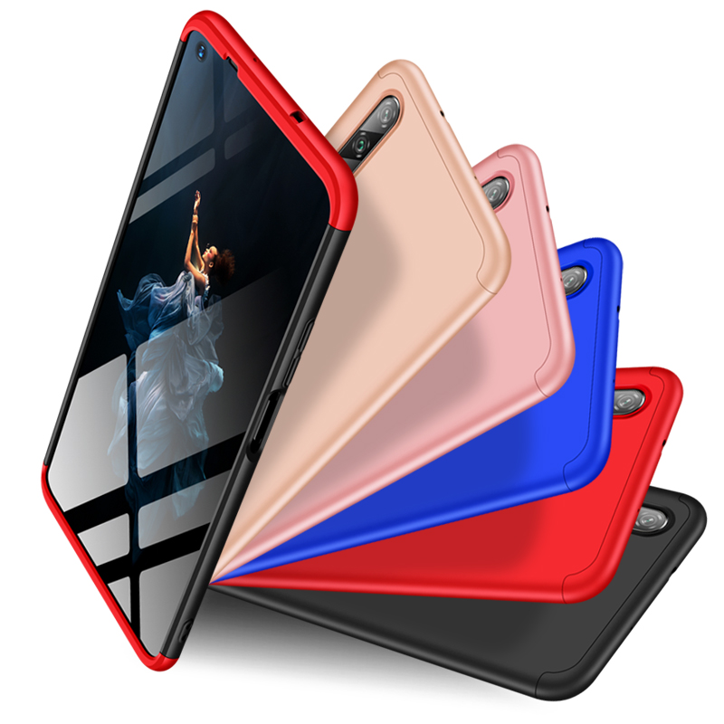 360 Degree Full Protection Hard PC Shockproof Case Huawei Honor View 20 10 9 8 Lite Play V9 20I 10I 8C 8X 8A 7X 7A 7C Pro Cover