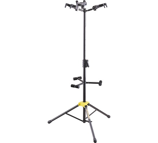 Hercules Stands GS432B Tri Stand Guitar Stand hercules gs301b travelite acoustic guitar portable travel mini steel stand