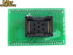 TSOP48 do DIP48 (A) TSSOP48 staiger IC Test gniazdo Adapter do programowania 0.5mm