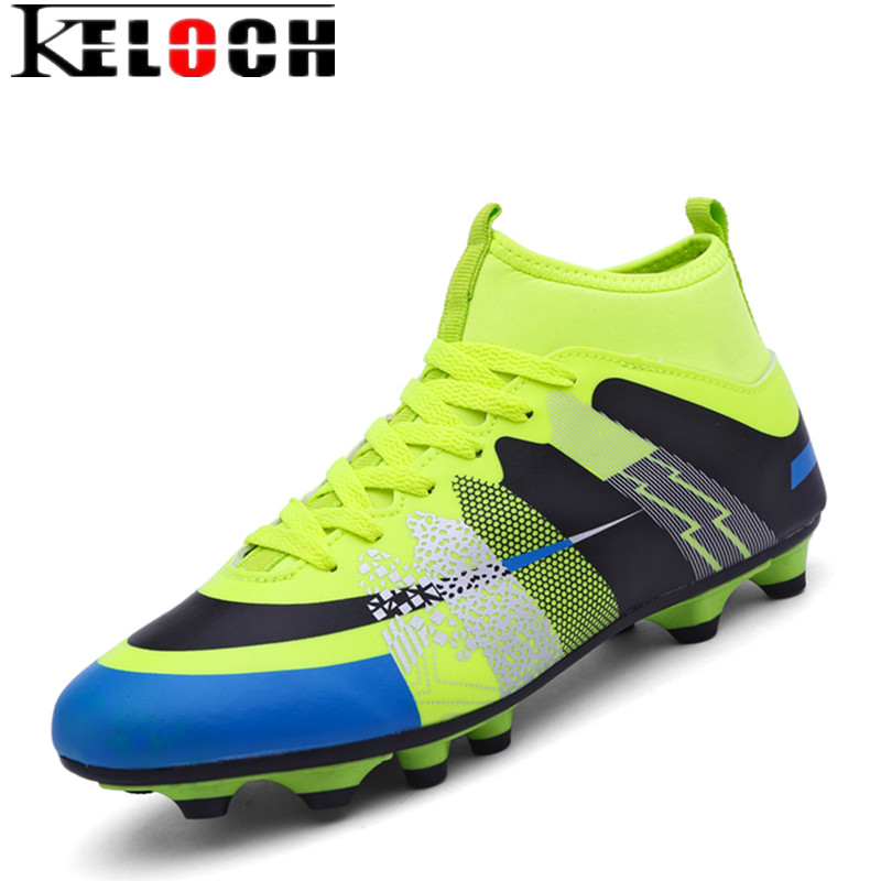 keloch high ankle soccer shoes football boots