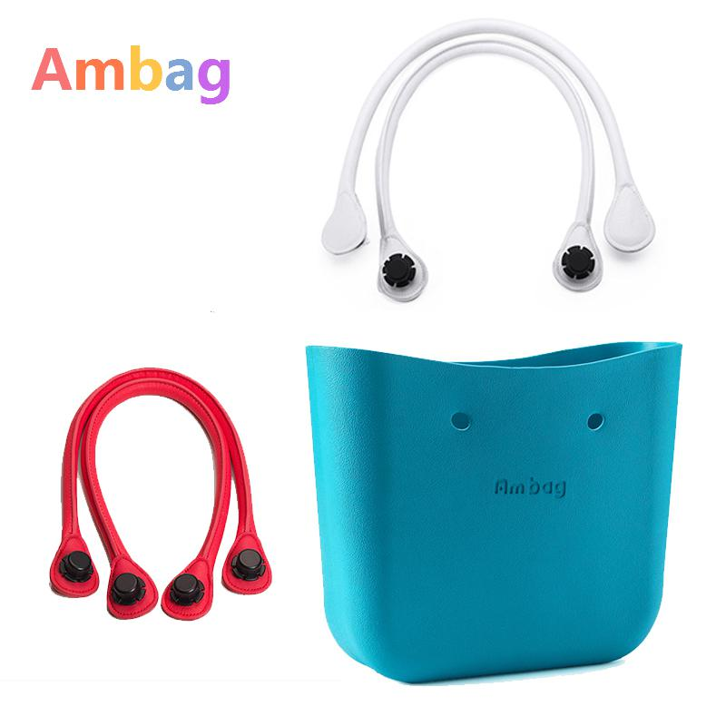 Ambag New Women Bags Designer Diy Handles Lined Bag Handbag Strap Beach Bag O Bag Diy Accessories Obag Handles price many colours mini mid size 30cm x 10cm x 28cm o bag obag style ambag body women s fashion eva handbag