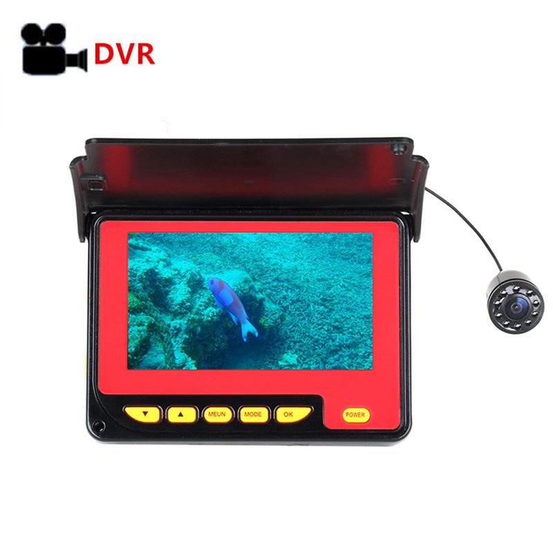 5108.97руб. 6% СКИДКА|Рыболокатор Pro 4,3 ''1000TVL водонепроницаемый ледяной океан подводная рыболовная камера беспроводной эхолот|Рыболокаторы| |  - AliExpress