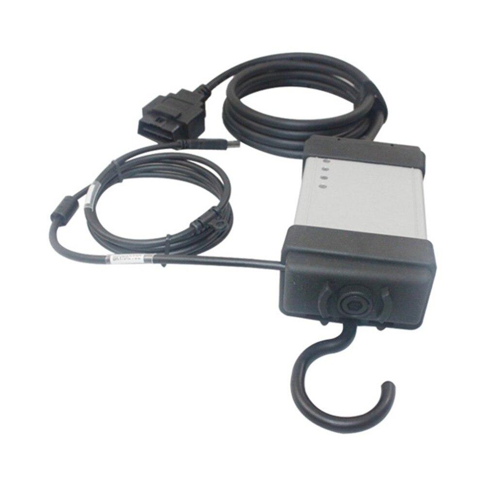 2014D OBD2 OBDII Car Motor Falha de Diagnóstico Automotivo Ferramenta de Scanner Completo Chip de Placa Verde para a Série Volvo Vida Dice